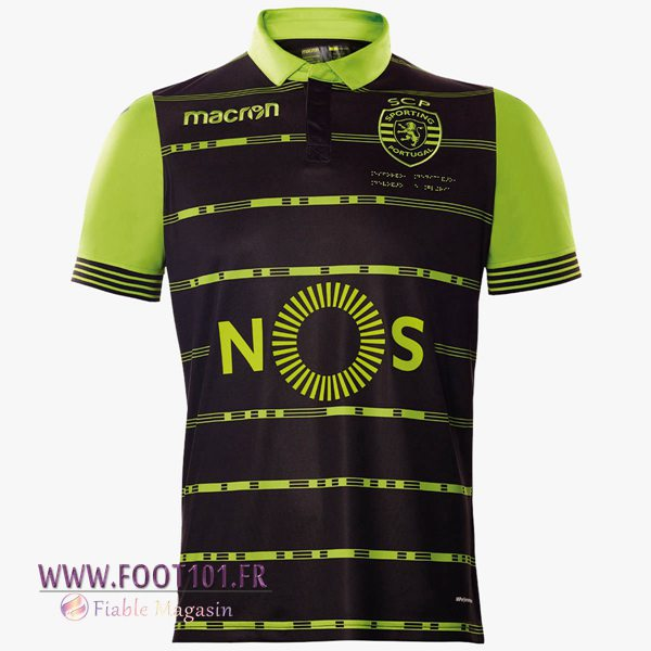 Maillot Foot Sporting Exterieur 2017/2018