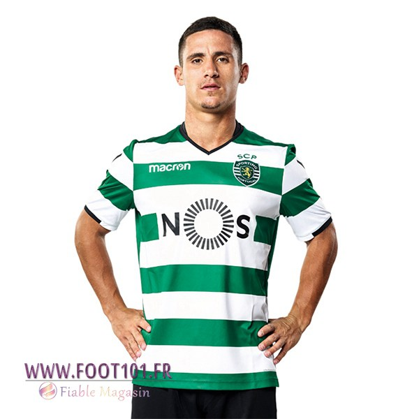 Maillot Foot Sporting Domicile 2017/2018