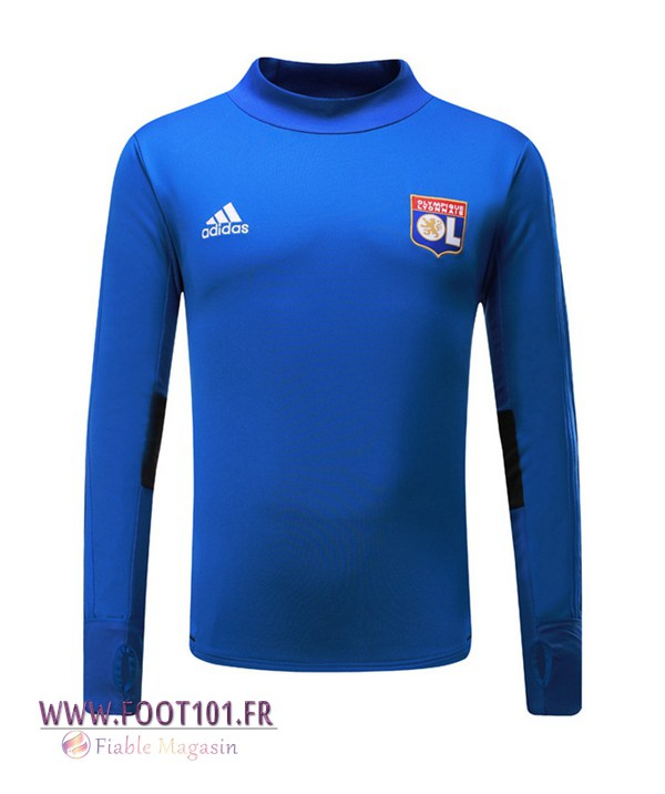 Sweatshirt Training Foot Lyon OL Bleu 2017/2018