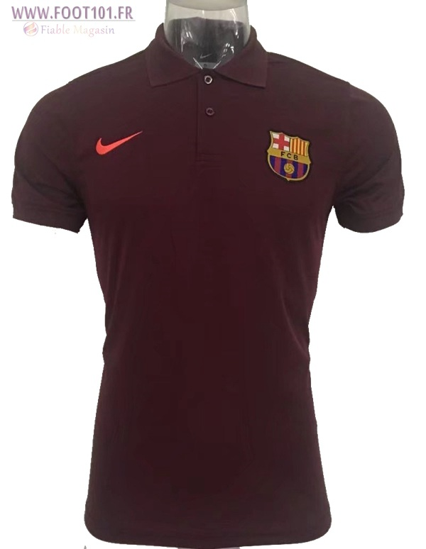 Polo FC Barcelone Brown 2017/2018