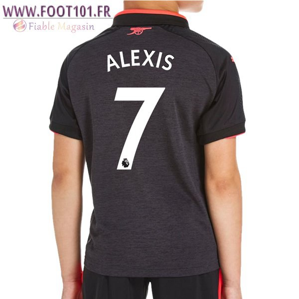 Maillot Foot FC Arsenal (ALEXIS 7) Enfant Third 2017/2018