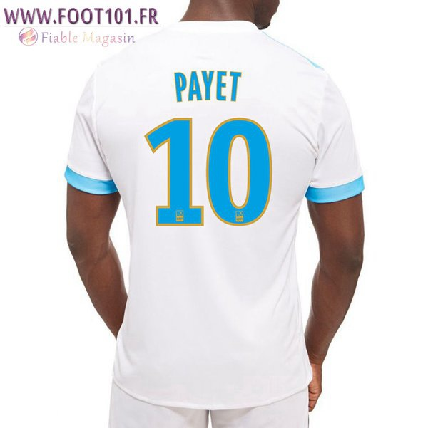 Maillot Foot Marseille OM (PAYET 10) Domicile 2017/2018