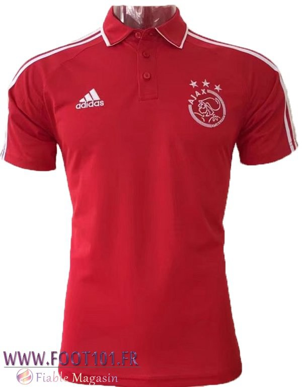 Polo AFC Ajax Rouge 2017-2018