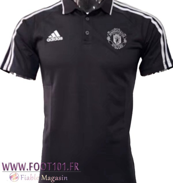 Polo Manchester United Noir 2017-2018