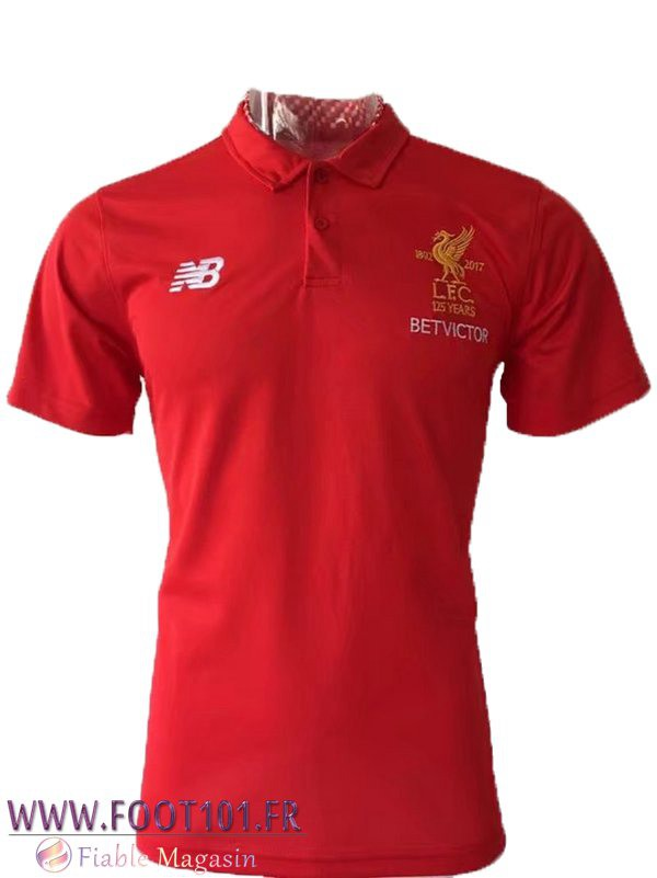 Polo FC Liverpool Rouge 2017-2018