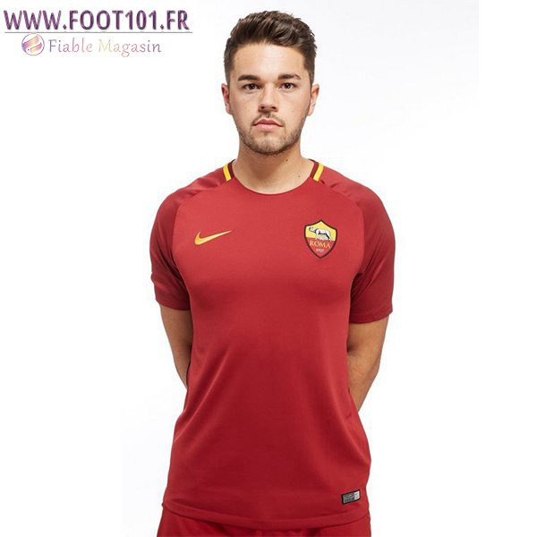 Maillot Foot AS Roma Domicile 2017/2018