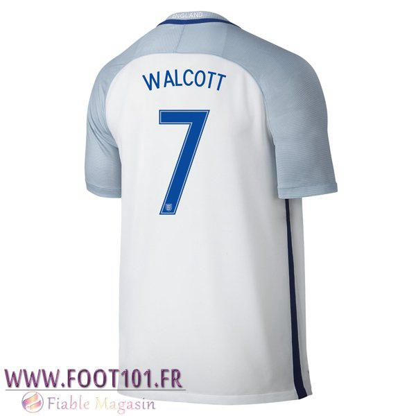 Maillot Foot Equipe Angleterre (WALCOTT 7) 2016/2017 Domicile