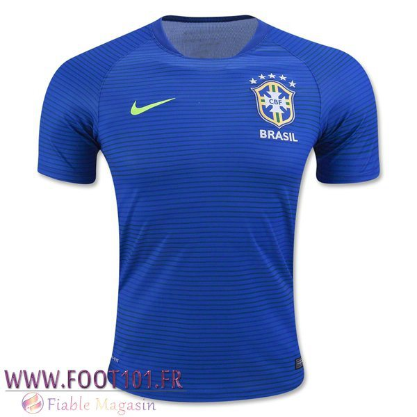 Maillot Foot Equipe Bresil 2016/2017 Exterieur
