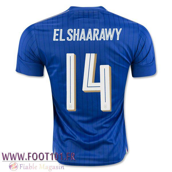 Maillot Foot Equipe Italie (ELSHAARAWY 14) 2016/2017 Domicile