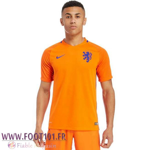 Maillot Foot Equipe Pays-Bas 2016/2017 Domicile
