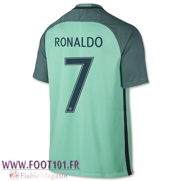 Maillot Foot Equipe Portugal (RONALDO 7) 2016/2017 Exterieur