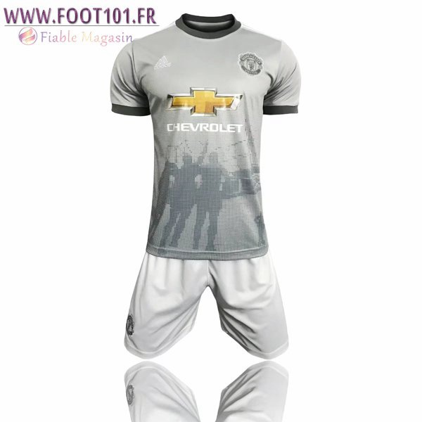 Ensemble Maillot + Short Manchester United Third 2017/2018