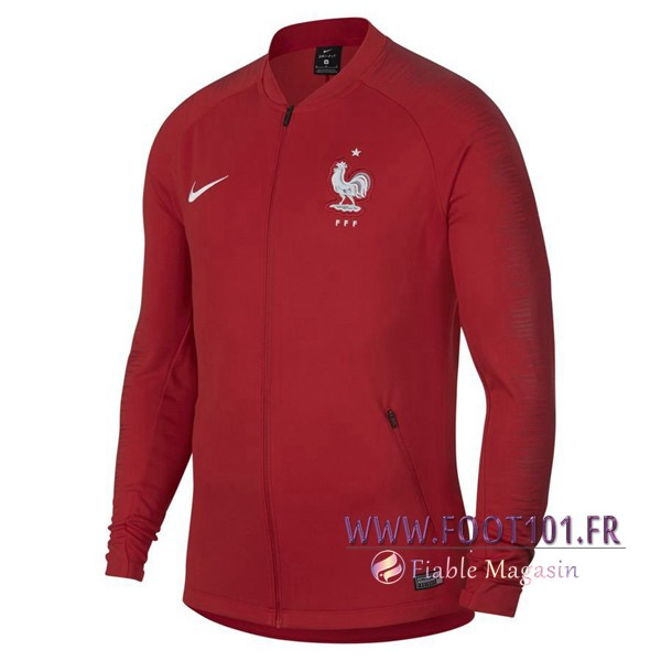 Veste Homme France Rouge 2018/2019