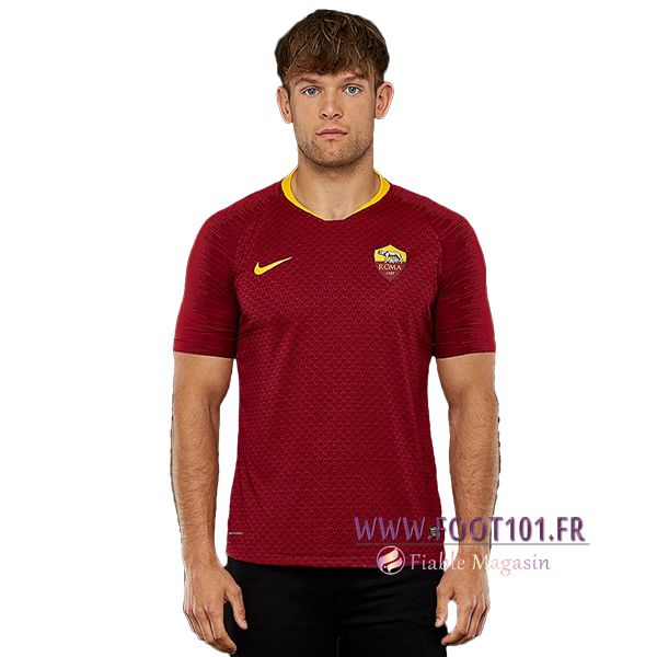 Maillot Foot AS Roma Domicile 2018/2019