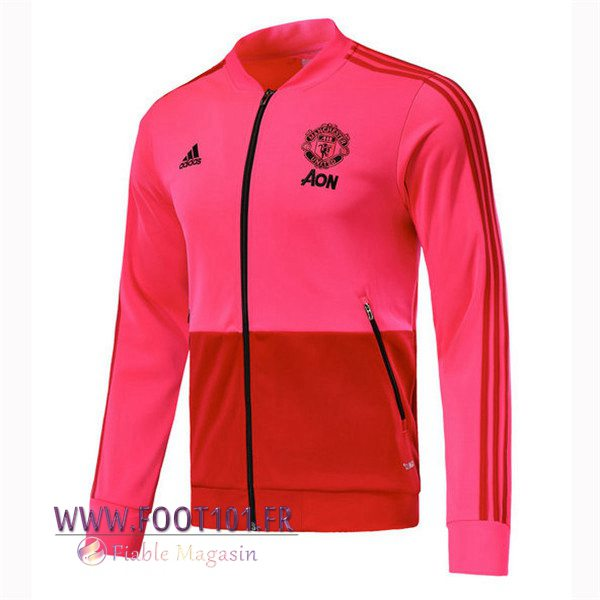 Veste Foot Manchester United Rouge 2018/2019