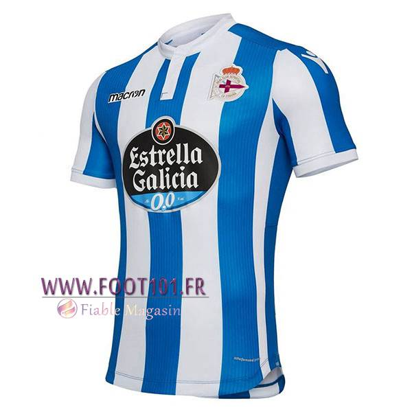 Maillot Foot Deportivo Domicile 2018/2019