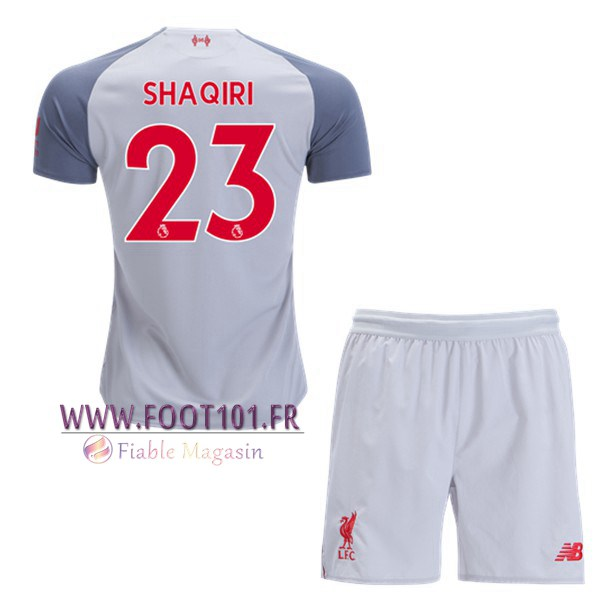 Maillot Foot FC Liverpool (Shaqiri 23) Enfants Third 2018/2019