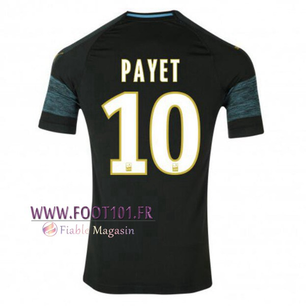 Maillot Foot Marseille OM (PAYET 10) Exterieur 2018/2019