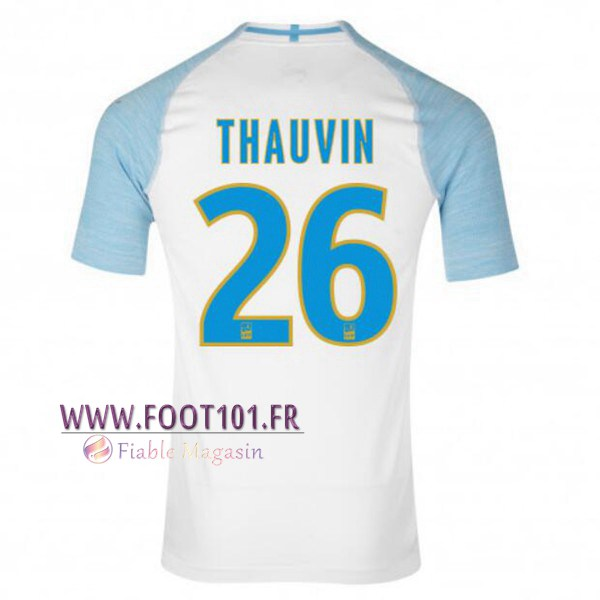 Maillot Foot Marseille OM (THAUVIN 26) Domicile 2018/2019