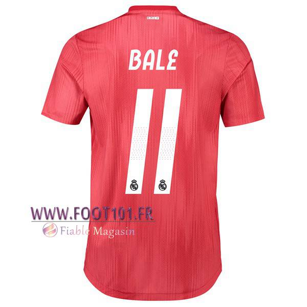 Maillot Foot Real Madrid (11 BALE) Third 2018/2019