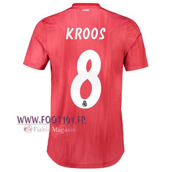 Maillot Foot Real Madrid (8 KROOS) Third 2018/2019