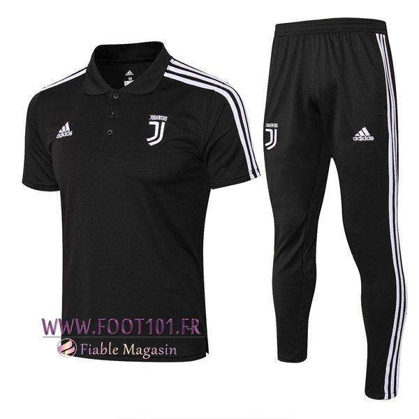 Ensemble Polo Juventus + Pantalon Noir 2018/2019