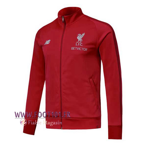Veste Foot FC Liverpool Rouge 2018/2019
