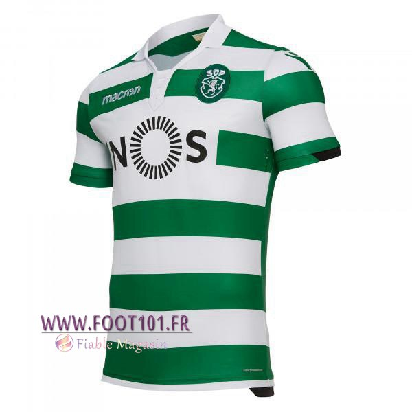 Maillot Foot Sporting Domicile 2018/2019