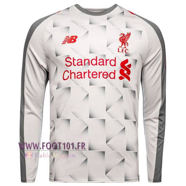 Maillot Foot Liverpool Third Manche Longue 2018/19