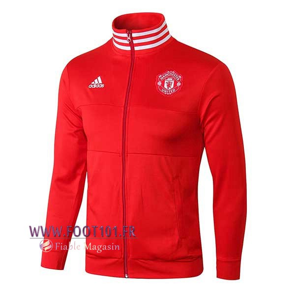 Veste Foot Manchester United Rouge Col haut 2018/2019
