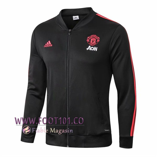 Veste Foot Manchester United Noir 2018/2019