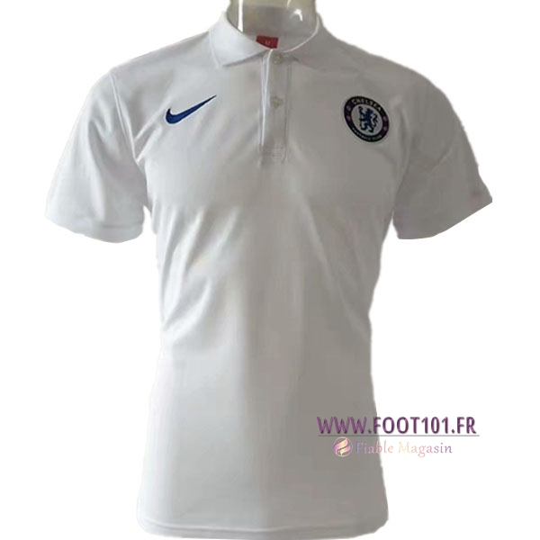 Polo Foot FC Chelsea Blanc 2019/2020