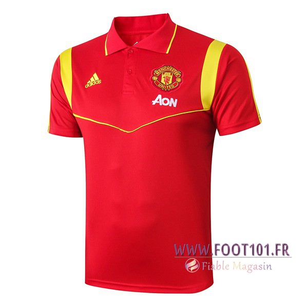 Polo Foot Manchester United Rouge 2019/2020