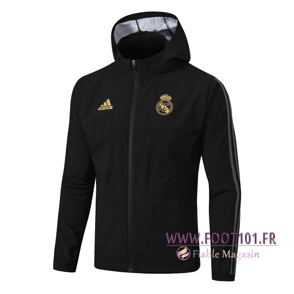 Veste Coupe Real Madrid Noir 2019/2020