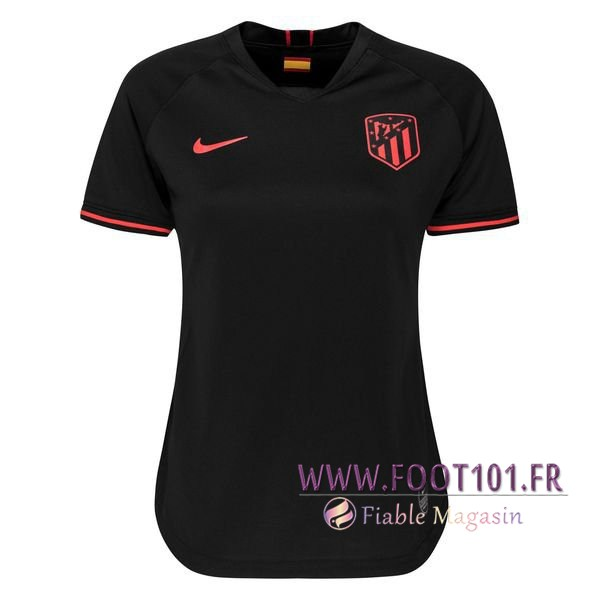 Maillot Foot Atletico Madrid Femme Exterieur 2019/2020