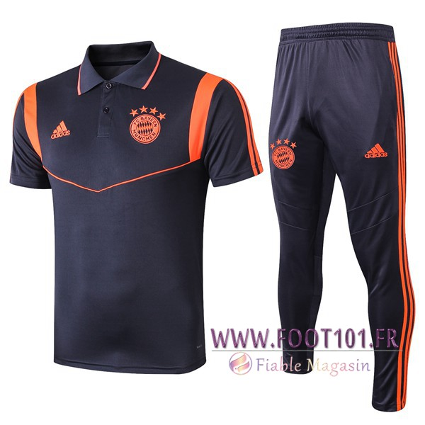 Ensemble Polo Bayern Munich + Pantalon Orange 2019/2020