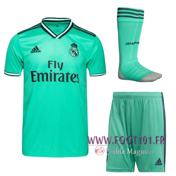 Ensemble Maillot Foot Real Madrid Third + Chaussettes 2019/2020