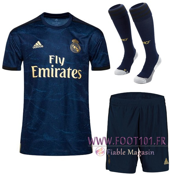 Ensemble Maillot Foot Real Madrid Exterieur + Chaussettes 2019/2020