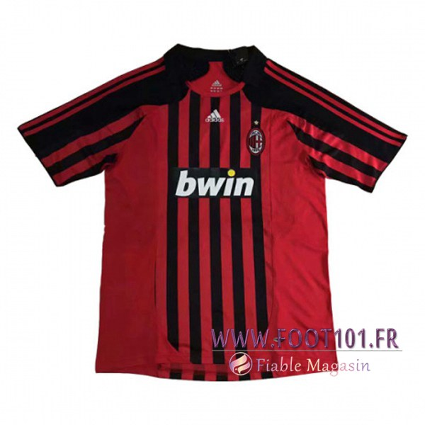 Maillot Foot Milan AC Domicile 2007/2008