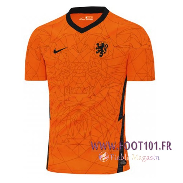 Maillot Foot Equipe Pays-Bas 2020/2021 Domicile