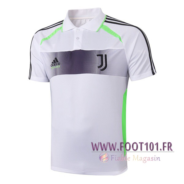 Polo Foot Juventus Adidas et Palace Collabore Edition Blanc 2019/2020