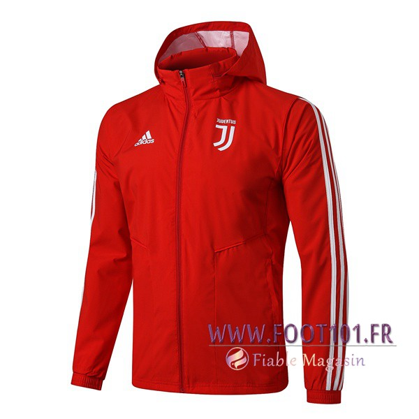 Coupe-Vent Juventus Rouge 2019/2020