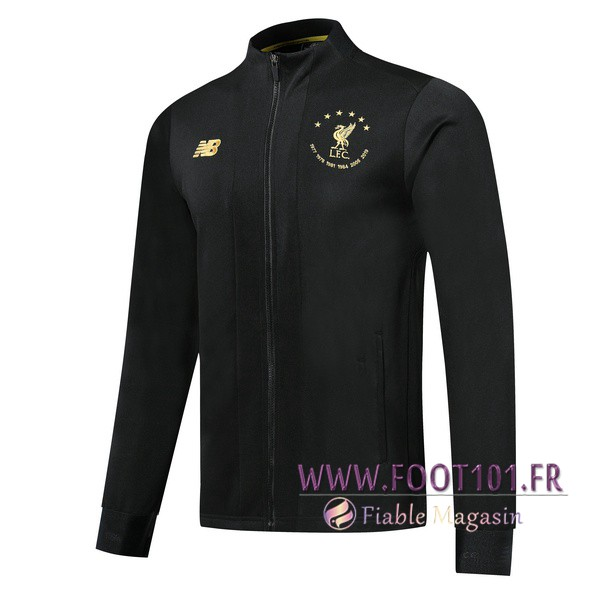 Veste Foot FC Liverpool Noir Edition commemorative 2019/2020