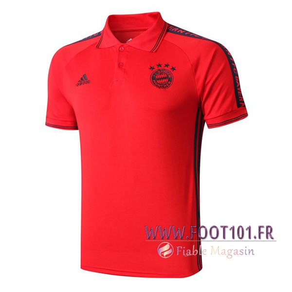 Polo Foot Bayern Munich Rouge 2019/2020