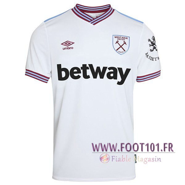 Maillot Foot West Ham Exterieur 2019/2020