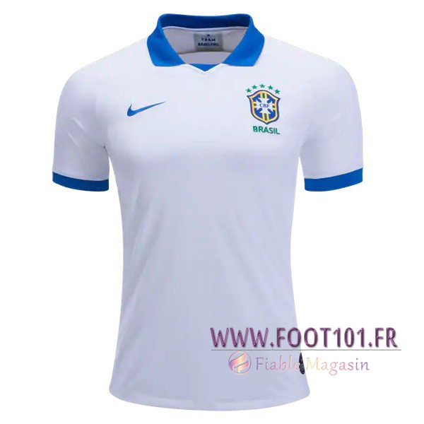 Maillot Equipe Foot Bresil Exterieur 2019/2020