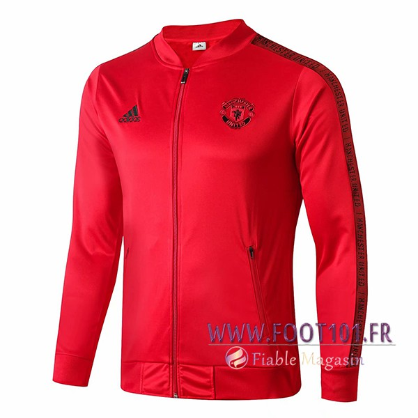 Veste Foot Manchester United Rouge 2019/2020