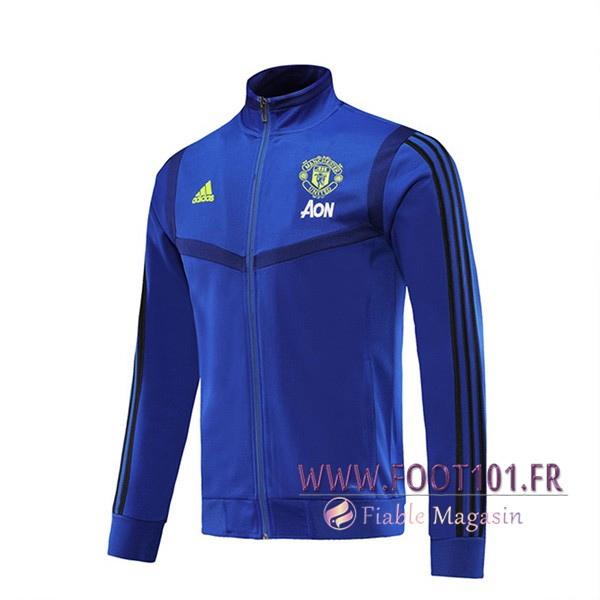 Veste Foot Manchester United Bleu 2019/2020