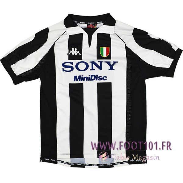 Maillot Foot Juventus Domicile 1997/1998