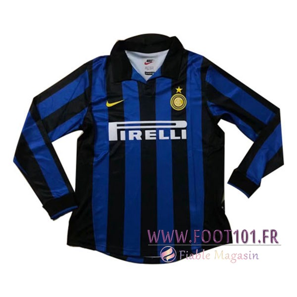 Maillot Foot Inter Milan Manches longues Domicile 2005/2006